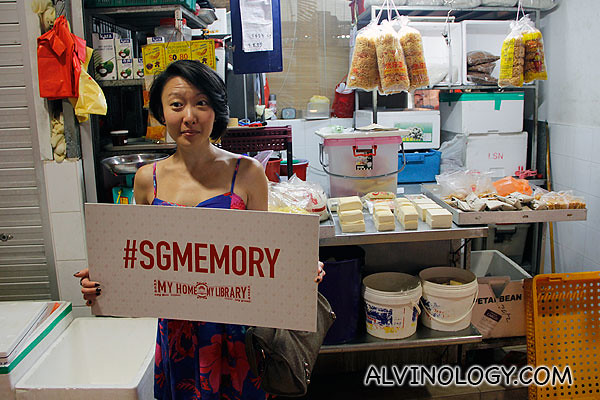 Contributing pictures of a wet market in Singapore to #sgmemory