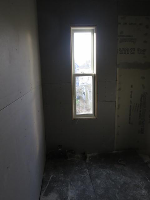 blueboard in bathroom 2