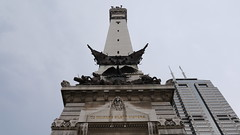 To Indiana's Silent Victors - Soldiers & Sailors Monument