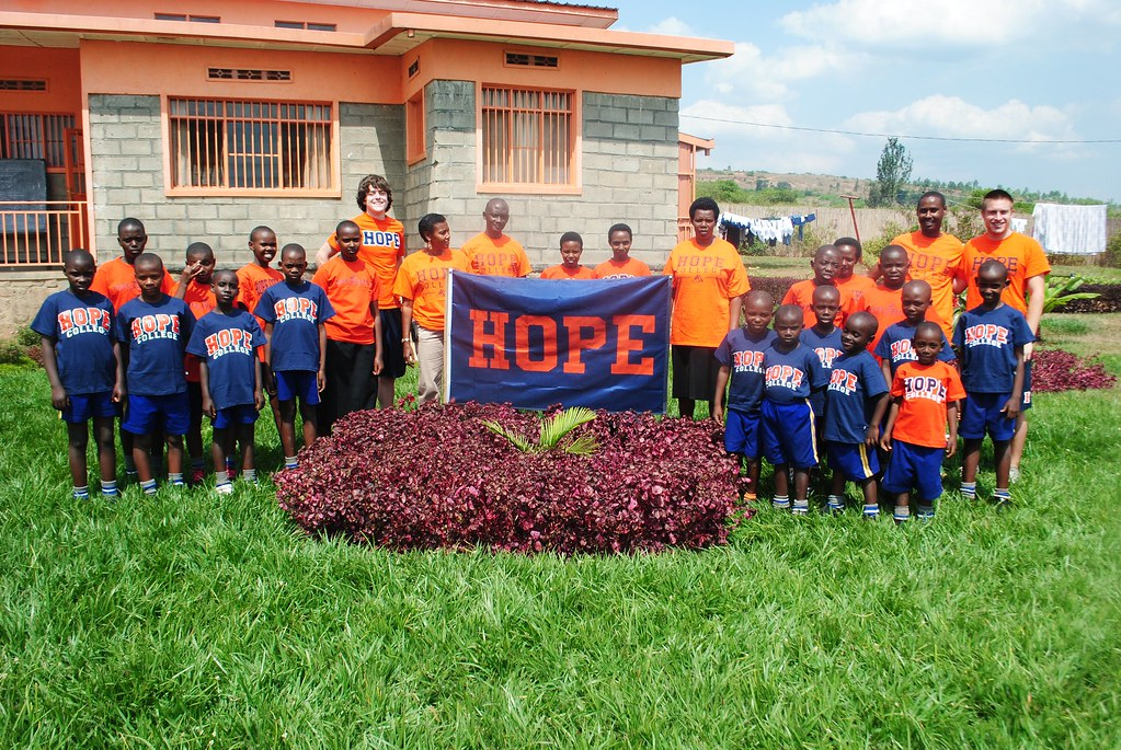 Hope College Brings Hope to Rwanda – One Book at a Time