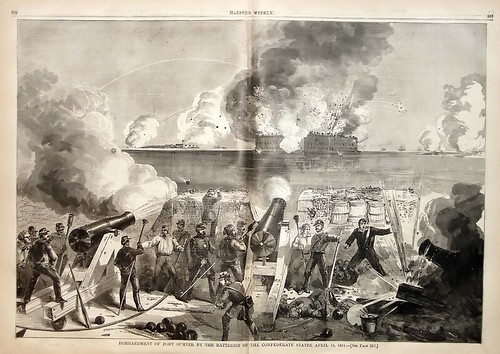 Fort Sumter by Harpers