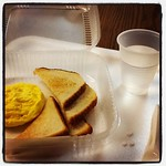 Instagraming my radioactive breakfast #gastroparesis #GES