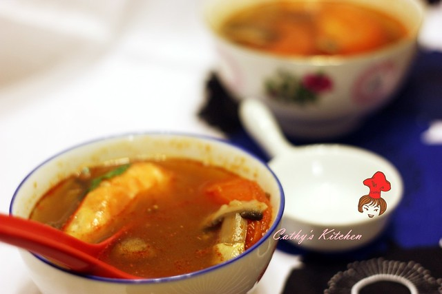 泰式冬陰酸辣湯 Thai Tom Yum Goong 2