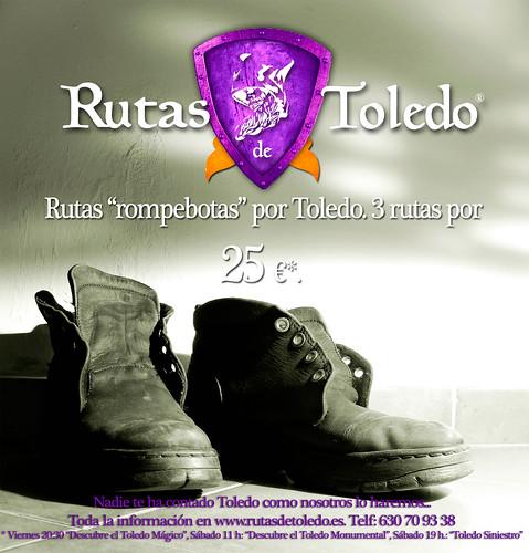 Rutas rompebotas por Toledo