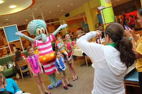 Nick Hotel SpongeBob SquarePants Bikini Bottom Breakfast Buffet