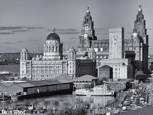 Liverpool Rooftop View
