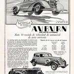 1935 Auburn Ad Argentina