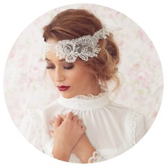 Bridal Headband Sash
