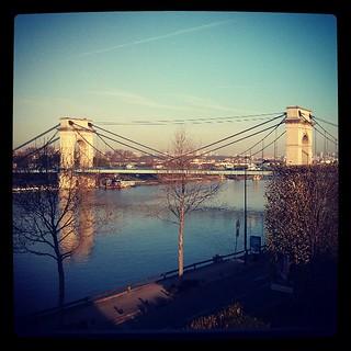 Familiar bridge. #home