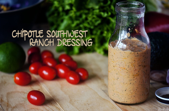 Chipotle Southwest Ranch Dressing via PasstheSushi.com