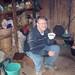 Lon tomando té de Tejocote, casa de Rosa, El Crucero hacia San Juan Juquila Mixes, Región Mixes, Oaxaca, Mexico por Lon&Queta
