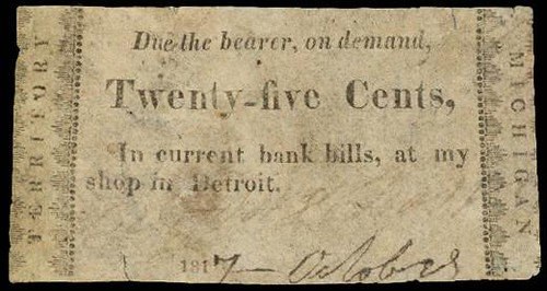 Melvin Dorr & Brewster obsolete note