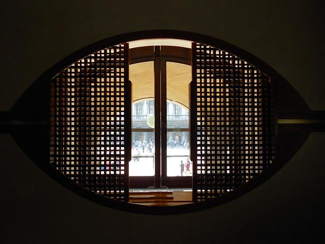 finestra ad occhio - negozio Olivetti - Carlo Scarpa - Venezia