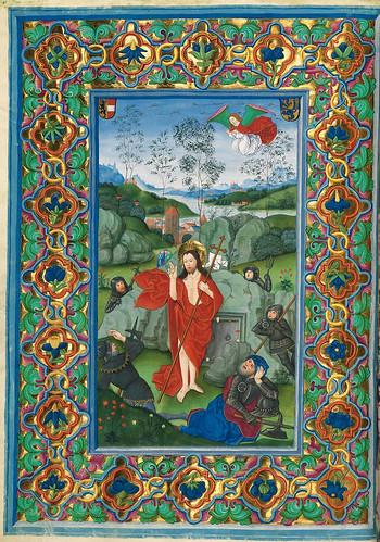 007-La Resurreccion-Misal de Salzburgo-1499-Tomo 2 -Biblioteca Estatal de Baviera (BSB)