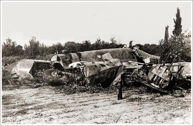 Piaggio P.108 crash