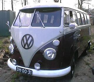 DH-00-31 Volkswagen Transporter kombi 1966