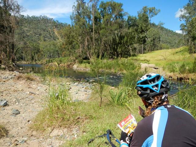 Lunch Beside Cressbrook Creek