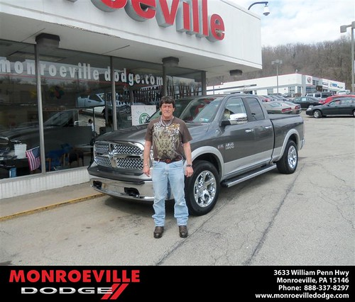 Monroeville Dodge would like to say Congratulations to Larry Owens on the 2013 Dodge Ram by Monroeville Dodge