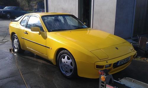 Porsche 944 - it's Yellow!   Retro Rides