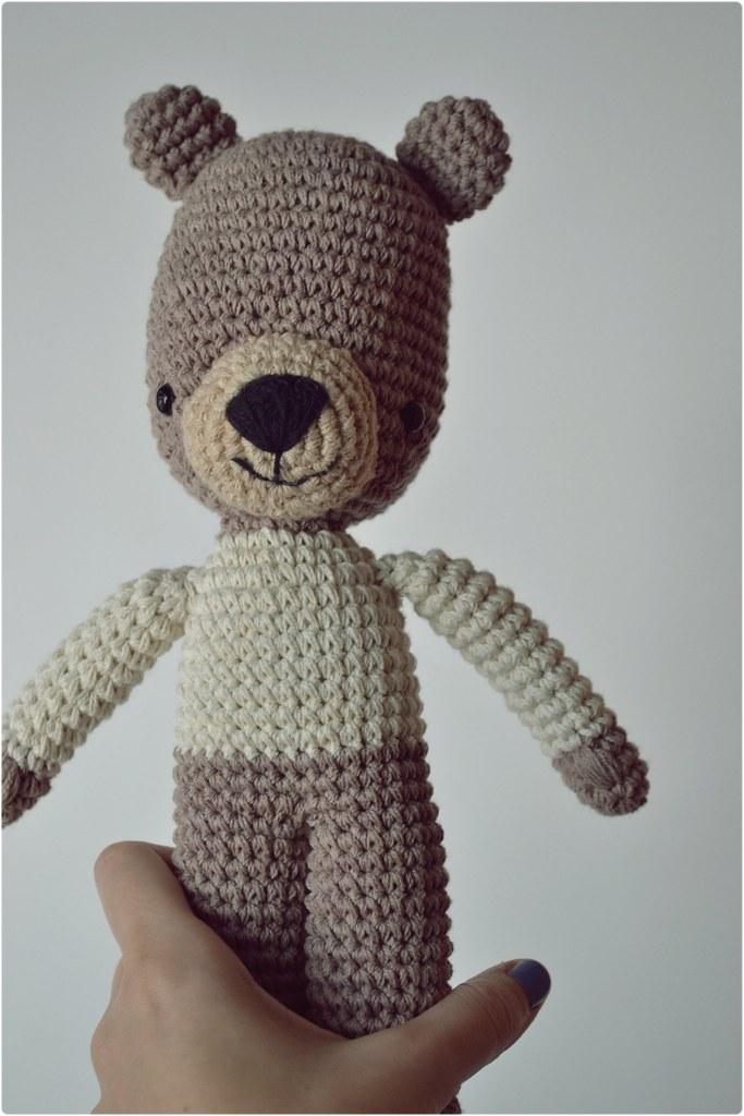 Crochet bear amigurumi | Amigurumi patrones gratis, Amigurumis ... | 1024x683