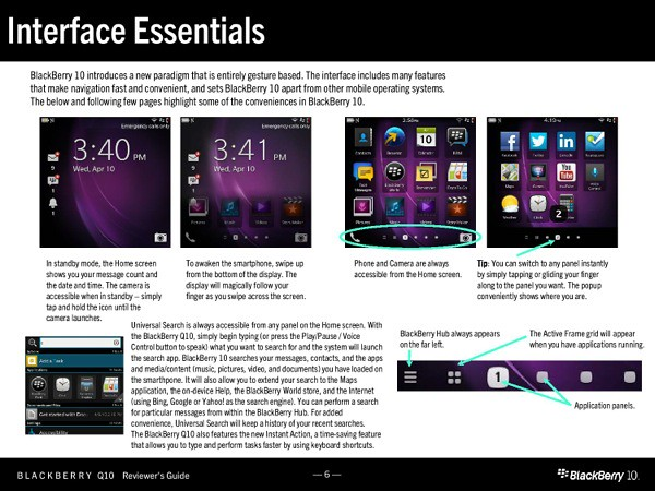 BlackBerry Q10 Reviewers Guide-005