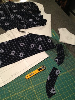 Cutting out a blouse! MMM13
