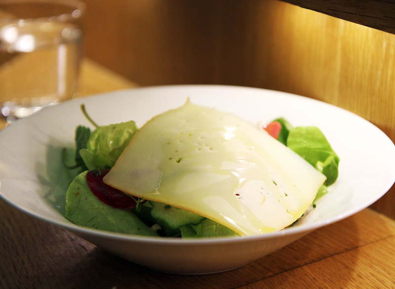 Bib Salad + Idiazabel Cheese
