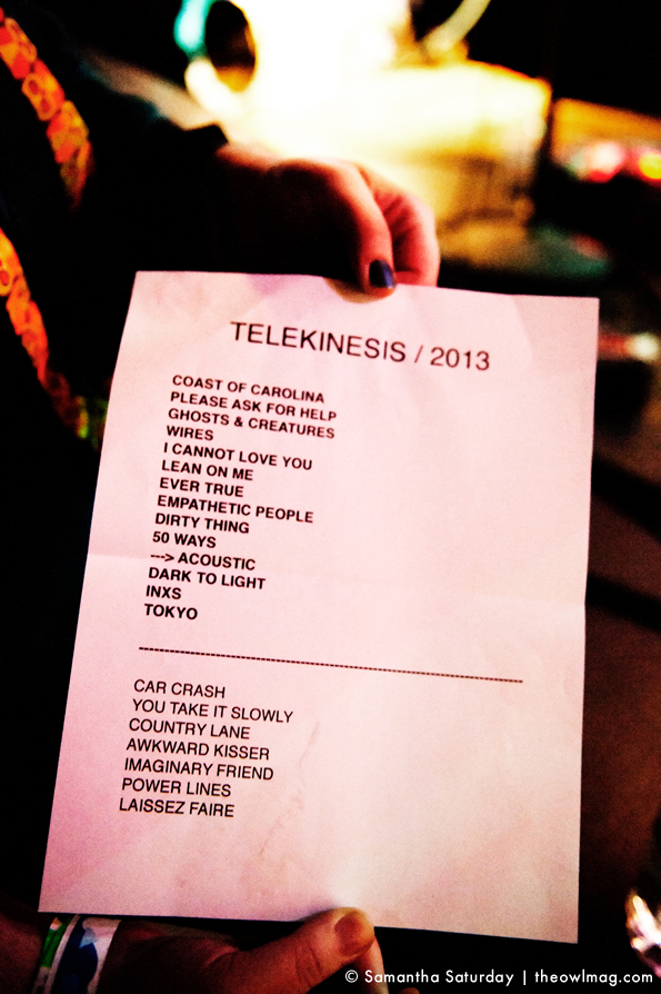 Telekinesis @ The Echo, Los Angeles 04:25:2013 26