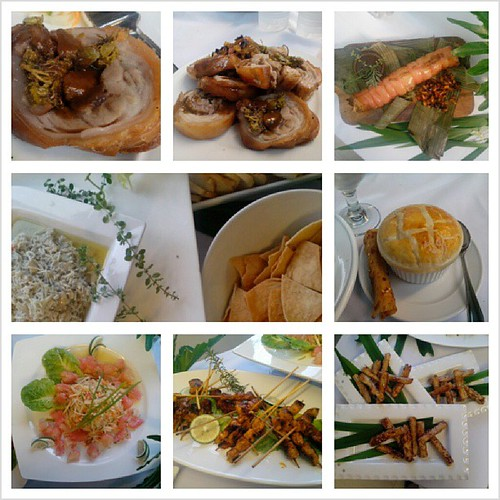 At The Maya Kitchen last Saturday, scrumptious food prepped by Chef Myrna Segismundo of Restaurant 9501.Must.blog.ASAP.