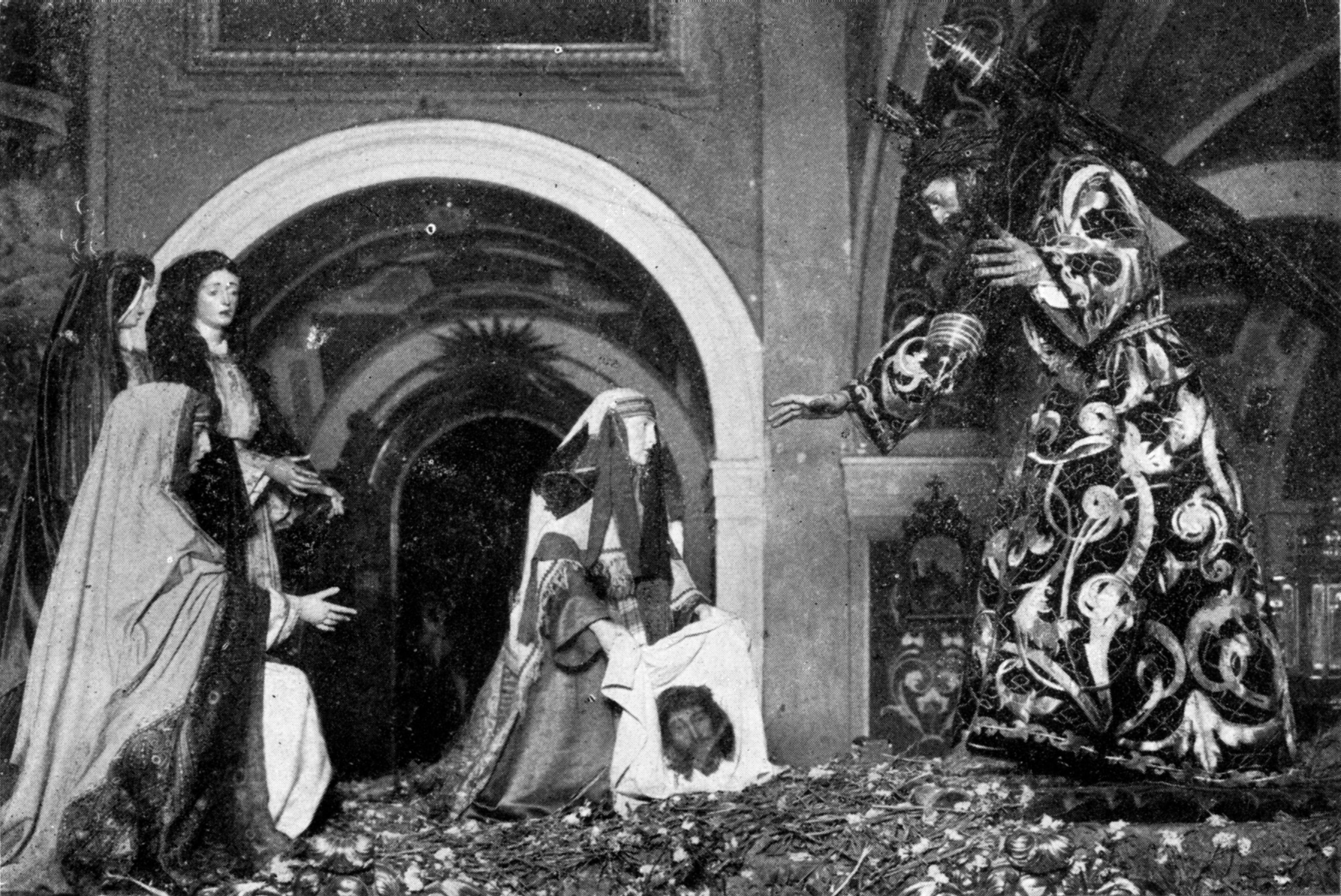 Misterio de la Calle de la Amargura, Jesús con la Cruz al Hombro
