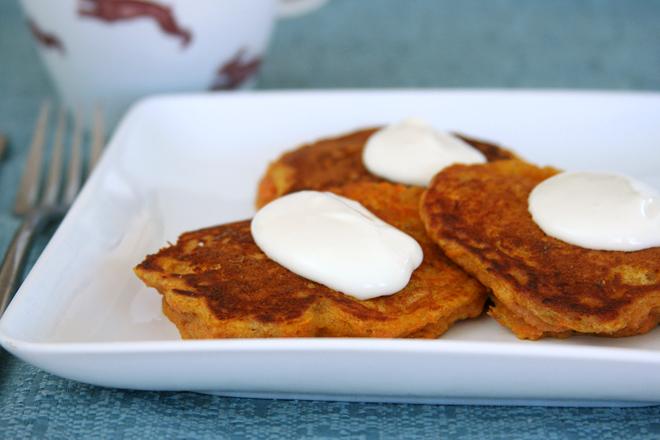carrot cake pancakes 7