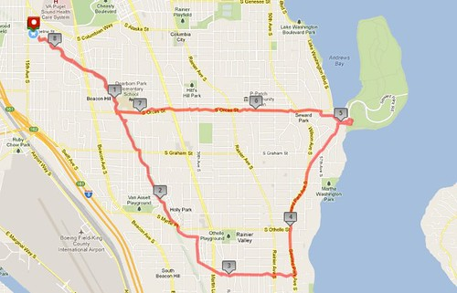 Today's awesome walk, 8.27 miles in 2:25 by christopher575