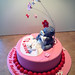 Tatty Teddy cake Side View