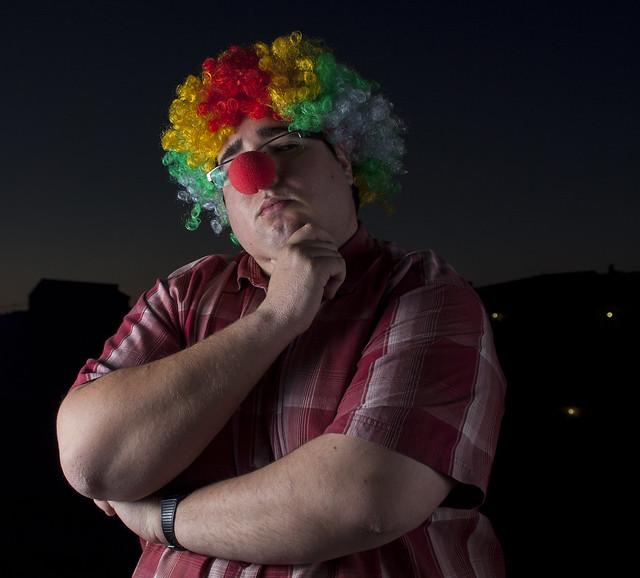 """Sesión: """"Cómo un payaso"""" / """"Like a clow"""""""