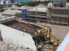 asphalt(0.0), sport venue(0.0), foundation(0.0), stadium(0.0), arena(0.0), reinforced concrete(1.0), demolition(1.0), construction(1.0), waste(1.0),