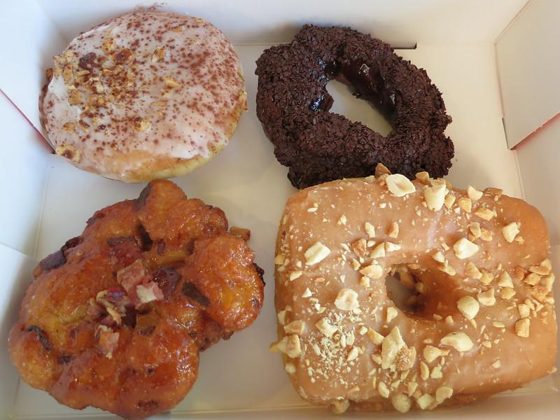 Selection of Lucky's doughnuts
