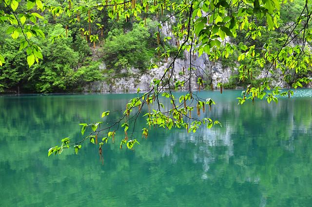 Jade Kaluderovac Lake, Plitvice Lakes National Park, Croatia