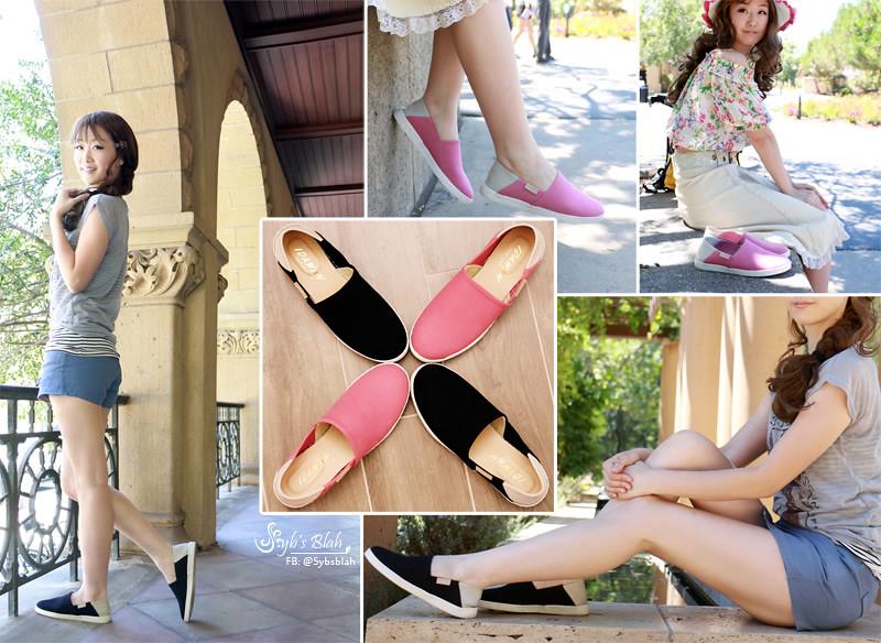 IDAWAN,懶人鞋,2way,MOMO,試用報告,穿搭,休閒鞋,萊卡鞋,拖鞋,平底鞋