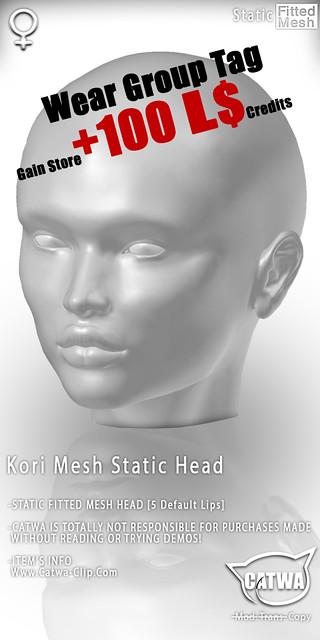 CATWA STATIC HEAD Kori