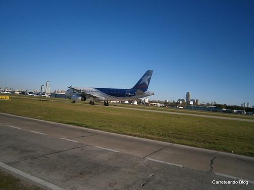 Airbus 320 LV-CKV de LATAM Argentina