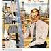 Stripe it Rich, 1955 Van Heusen ad by Tom Simpson