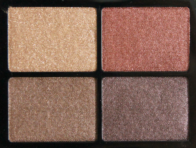 IsaDora bohemian eye shadow quartet
