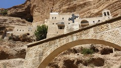 Wadi Qelt, West Bank, Israel and Palestinian Territories - Monastery of St. George 3