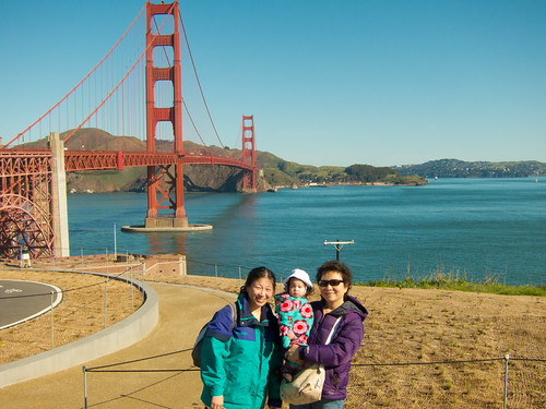 3 Generations at the Golden Gate Bridge