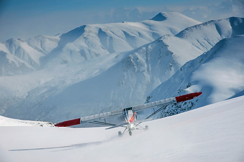 march turns in the wrangells skiing in wrangell st elias national park with wild alpine guides alaska