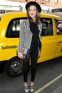 Tali Lennox Monochrome Trend Celebrity Style Women's Fashion