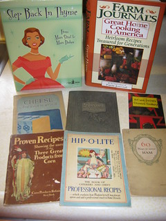 Cookbooks - Some Vintage