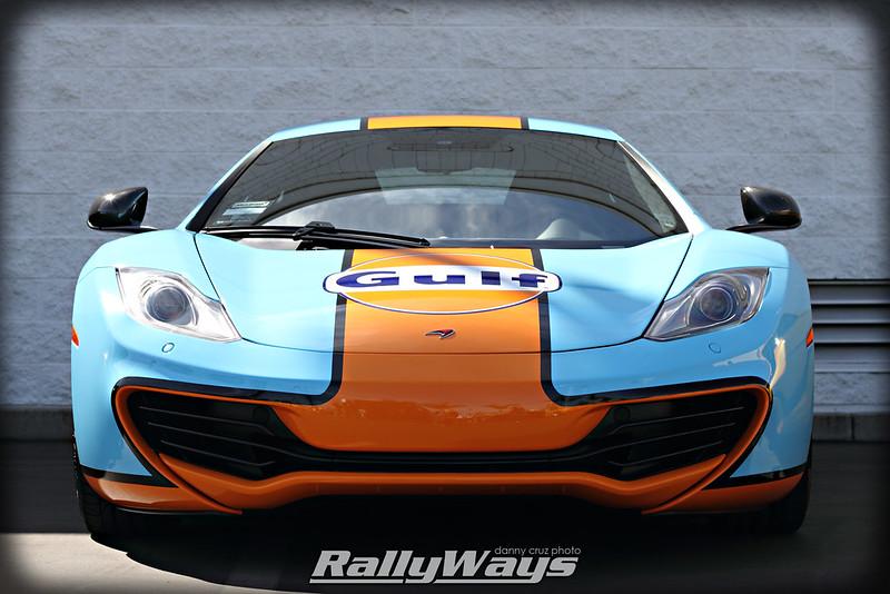 McLaren MP4-12C Gulf Gasoline