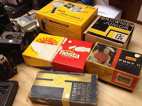 Kodak Camera Boxes