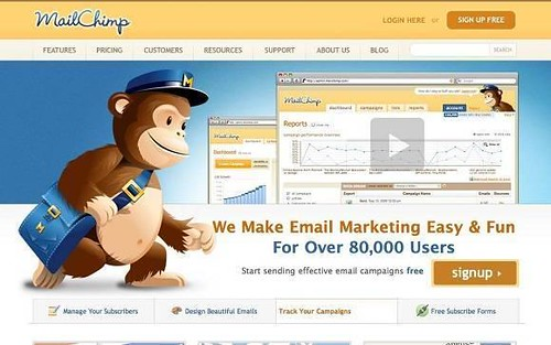 MailChimp. Herramienta de Marketing Online